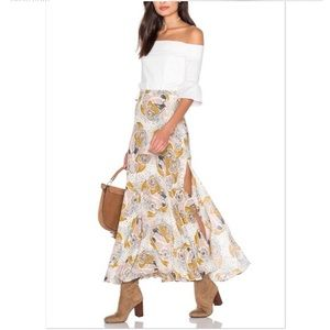 Free People Pebble Fate Maxi Skirt